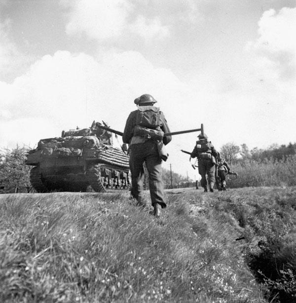 Photo of Advancing Down a Road