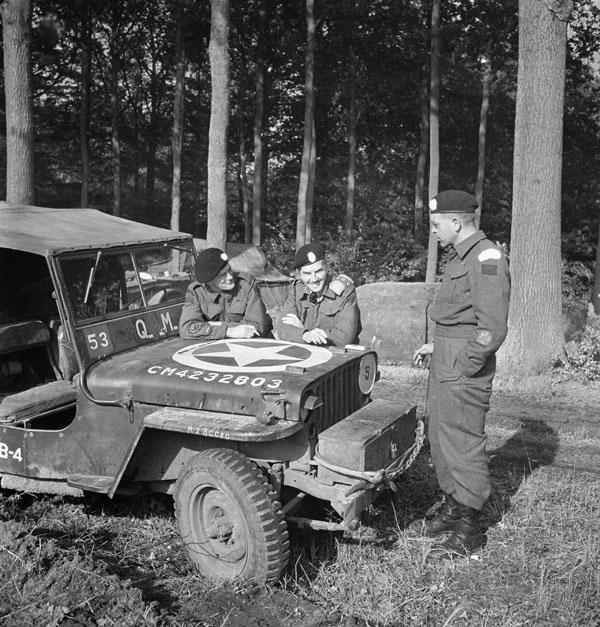 Photo of Chatting at the Jeep