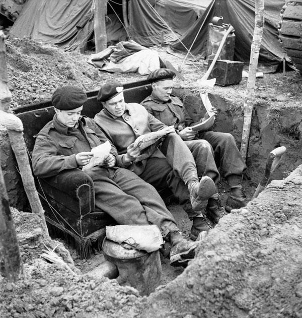 Photo of Comfort in the Trenches