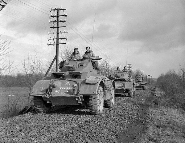 Photo of Convoy of Armoured Cars