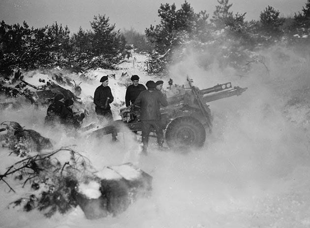 Photo of Firing Artillery