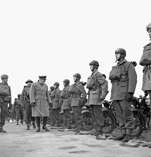 Photo of Formal Inspection of the Dragoons