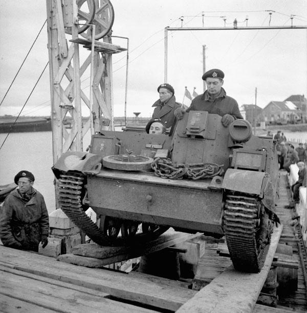 Photo of Loading a Universal Carrier