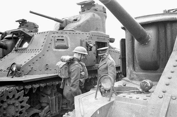 Photo of Mark I Tank Inspection
