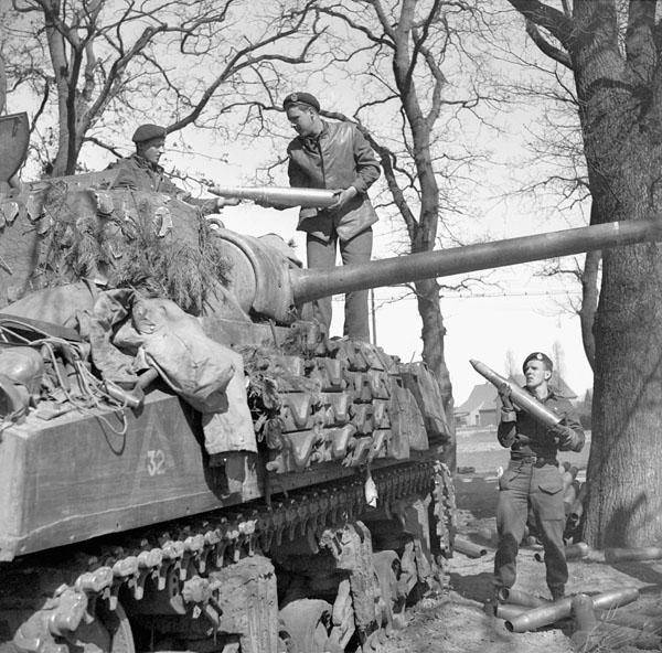Photo of Shelling a German Position