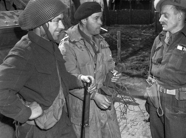 Photo of Soldiers Having a Break