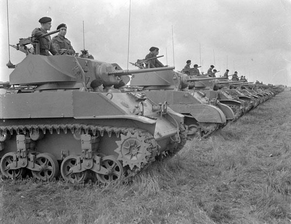 Photo of Stuart V Tank Column
