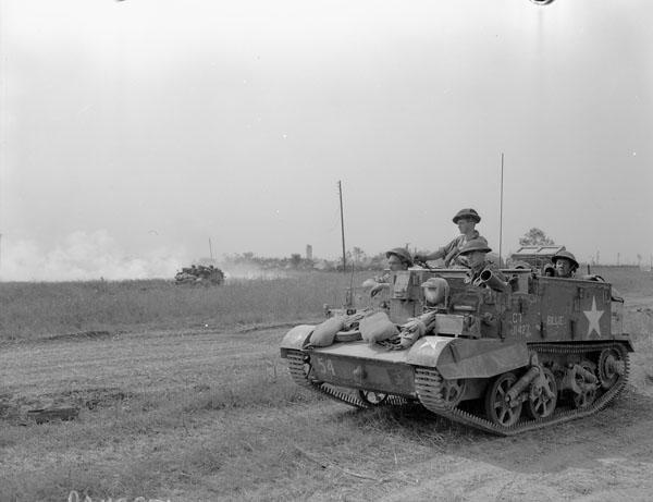 Photo of Universal Carrier on the Move