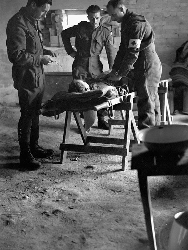 Photo of Wounded in Italy