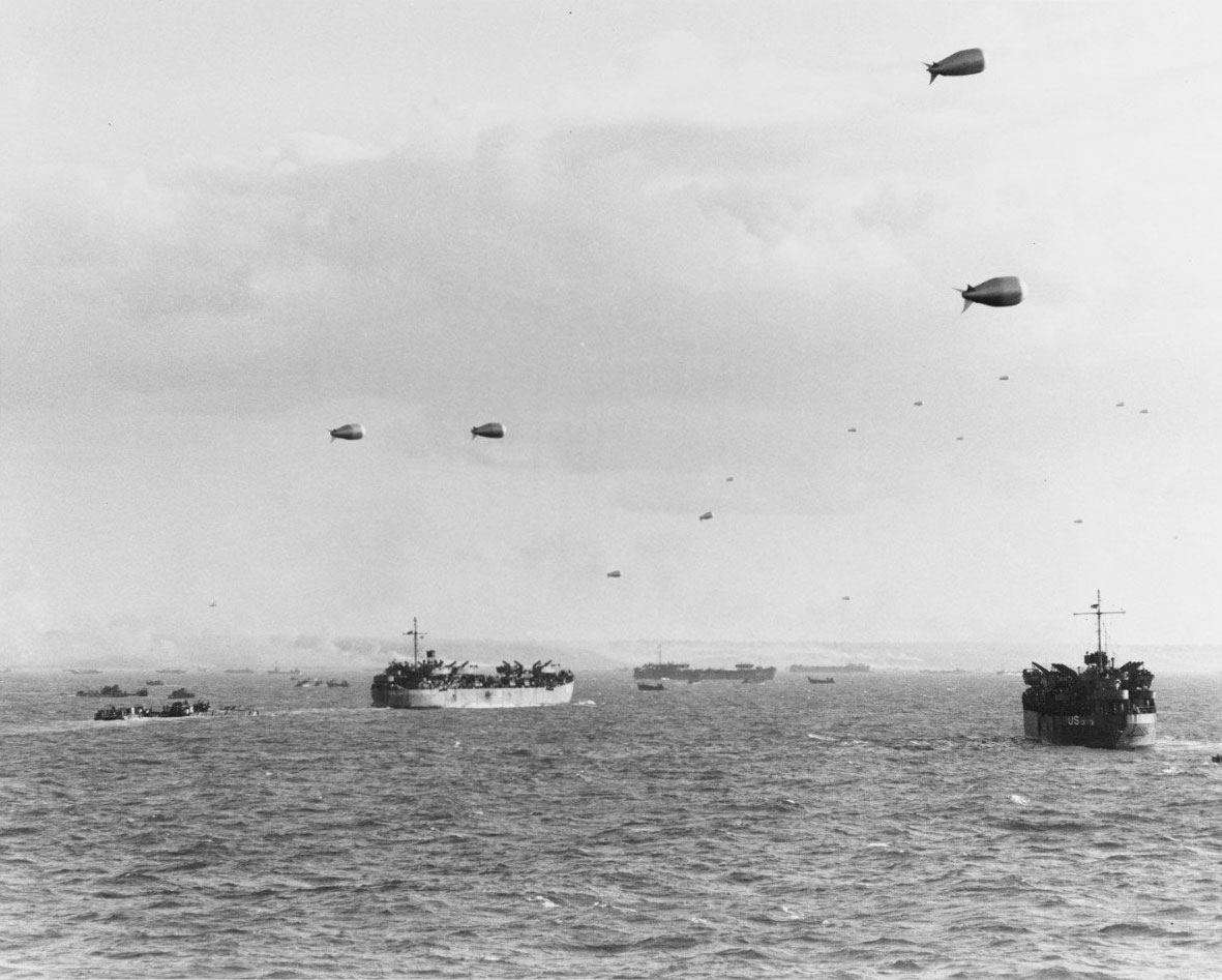Photo of D-Day invasion force