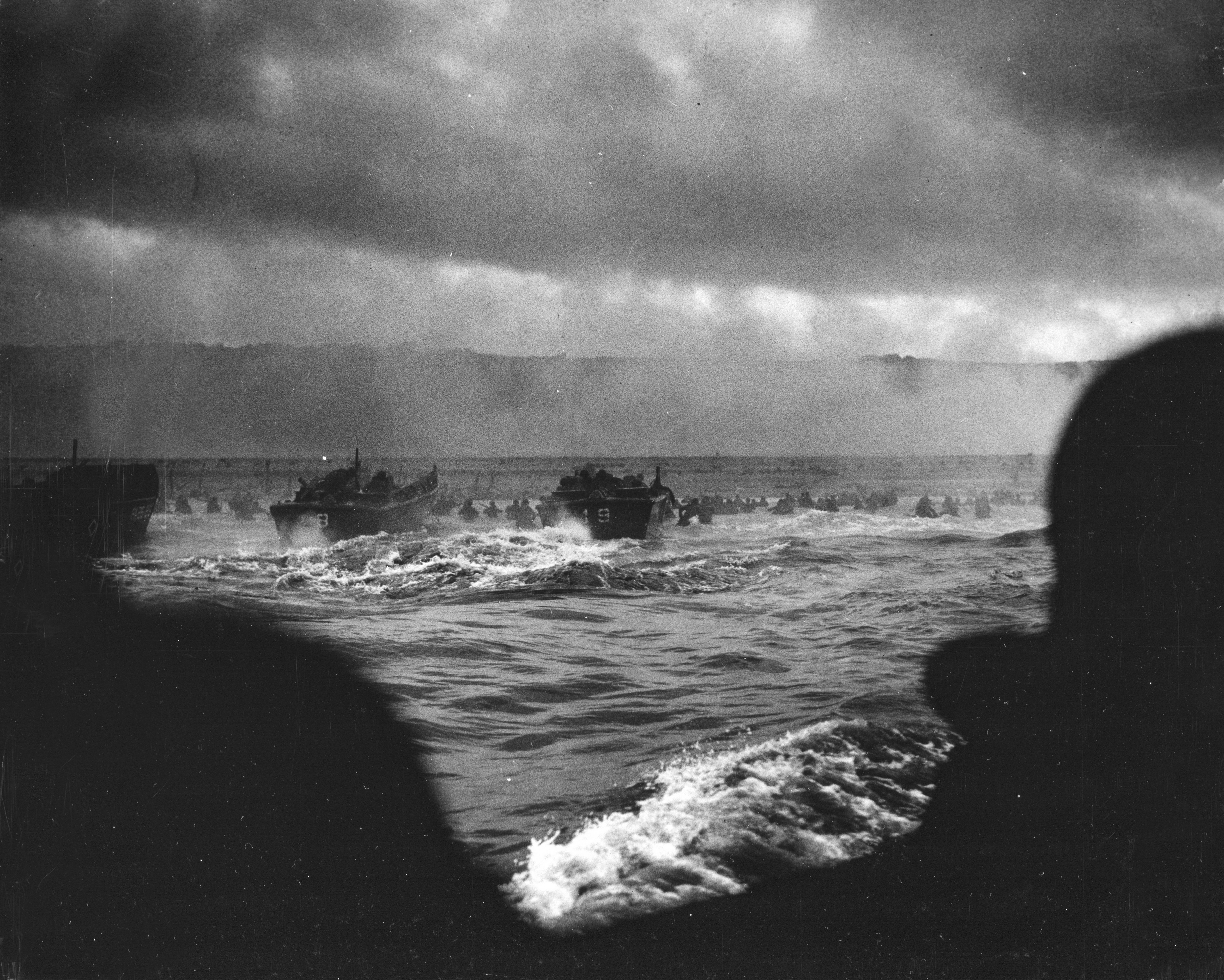 Photo of The first wave of attack