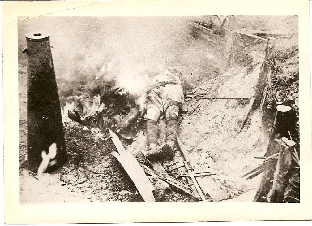Photo of At the bottom of the trench