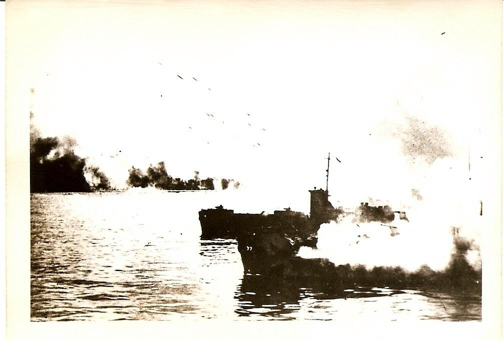 Photo of Firing upon the island
