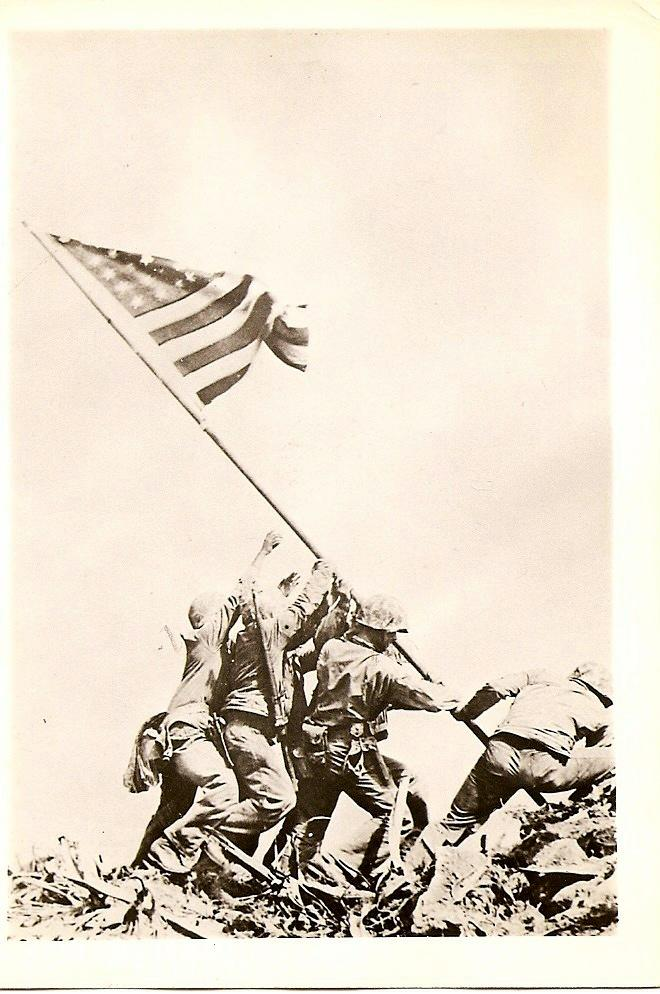 Photo of Raising the flag
