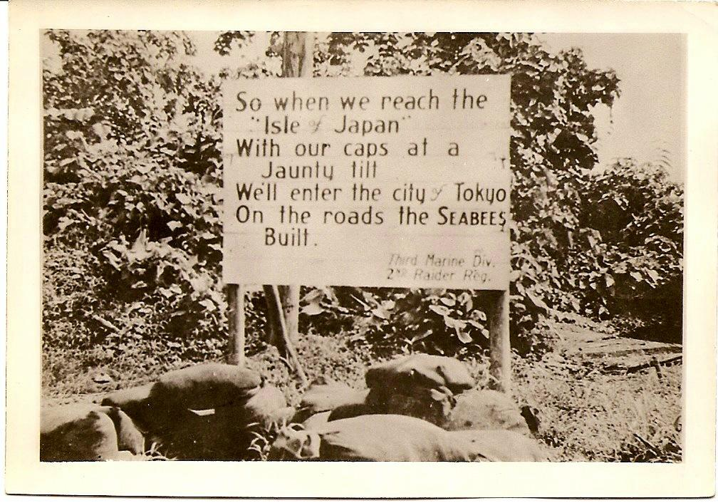 Photo of Road built by the Seabees