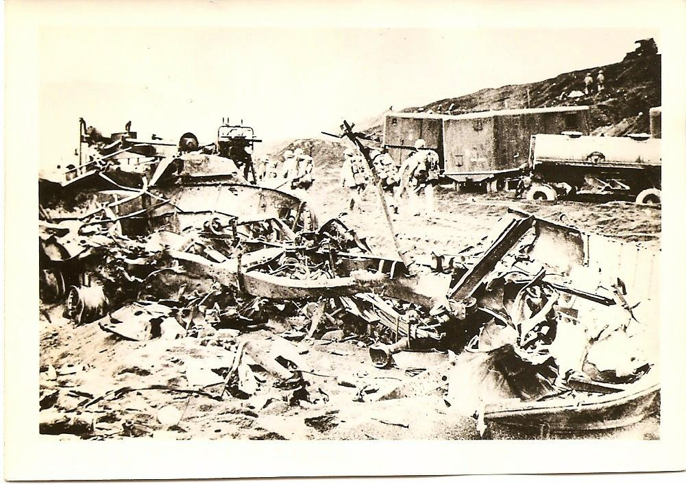 Photo of Twisted wreckage