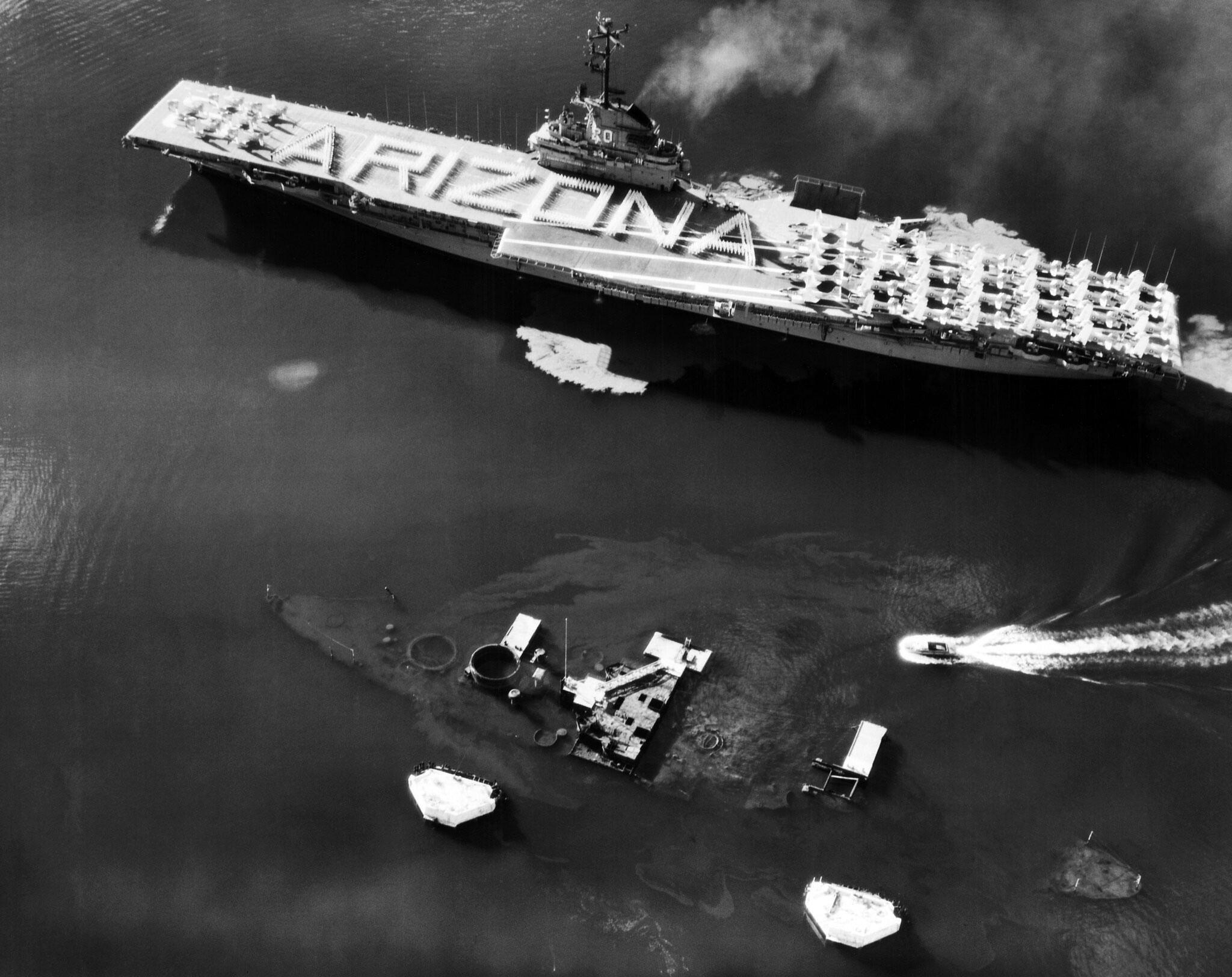 Photo of Tribute to USS Arizona
