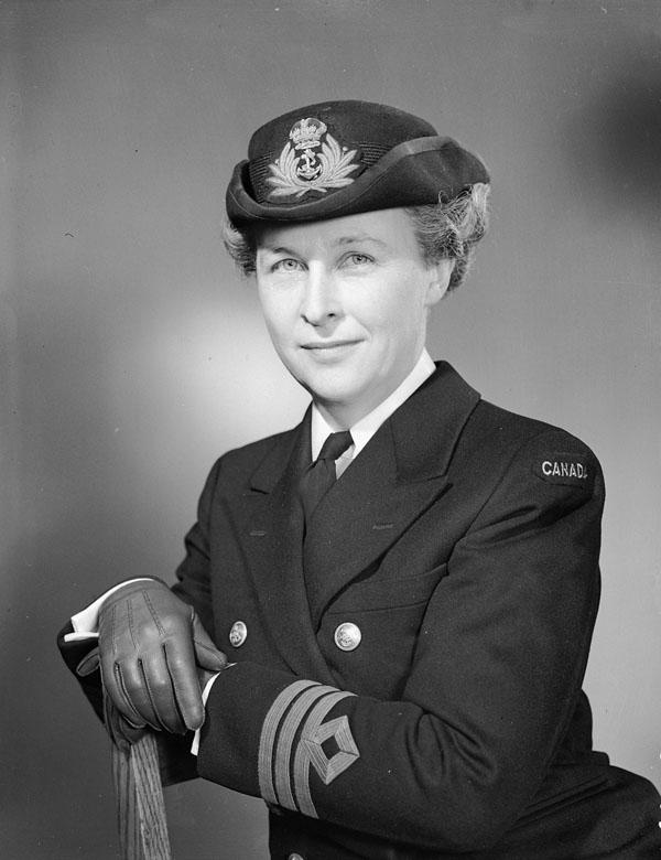 Photo of Commander Adelaide Sinclair