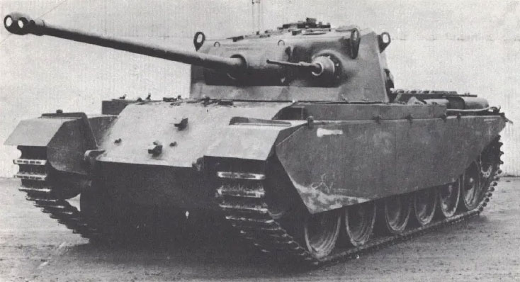 Photo of British A41 Centurion Tank