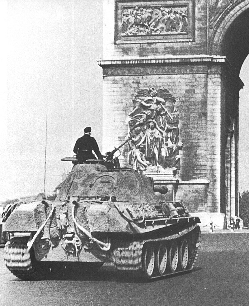 Photo of German Panther Tank