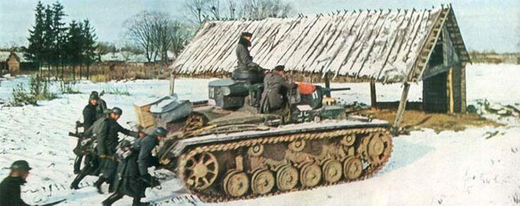 Photo of German Panzer III In Russia