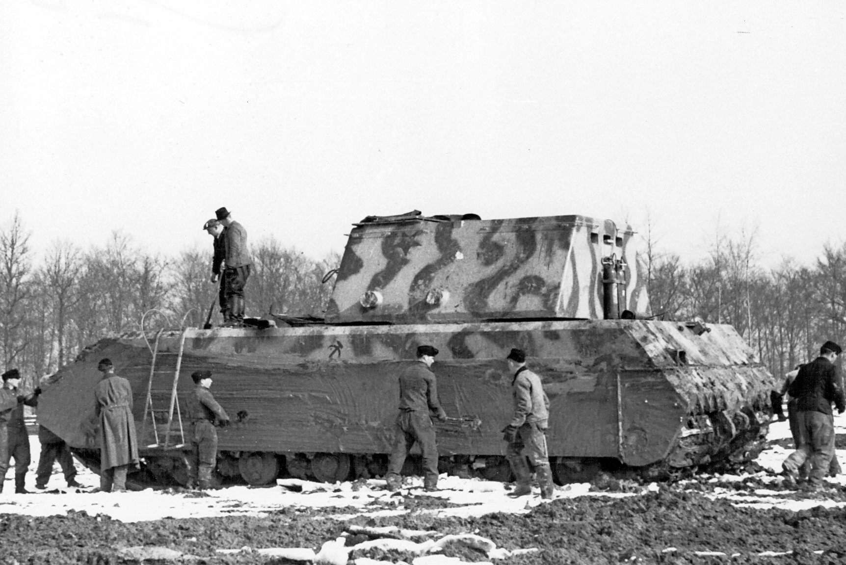 Photo of German Pz. Kpfw 'Maus'