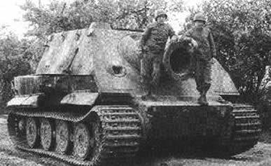 Photo of German SturmTiger