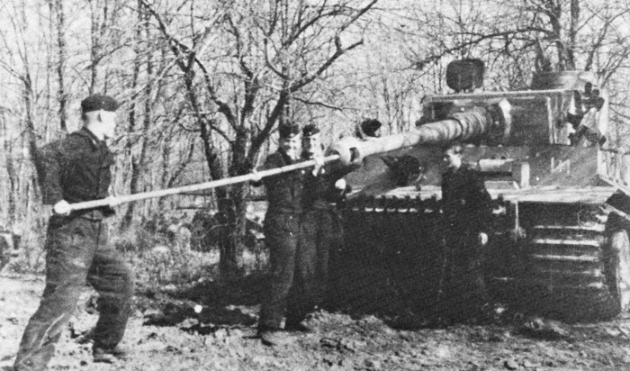 Photo of The German Tiger Tank