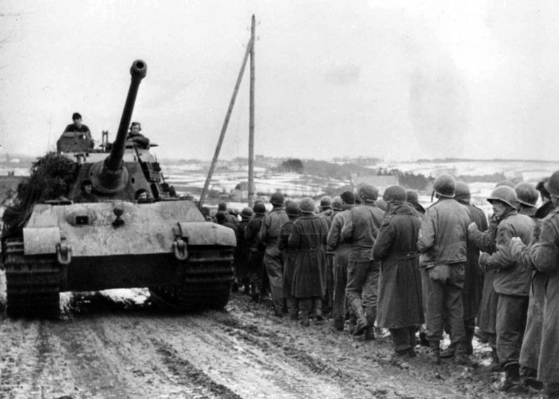 Photo of Tiger Royal at Ardennes Offensive