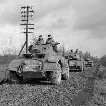 Convoy of Armoured Cars