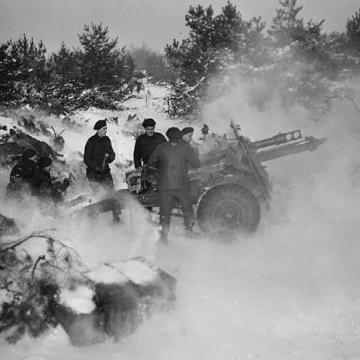 Firing Artillery