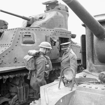 Mark I Tank Inspection