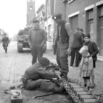 Repairing a Sherman Track