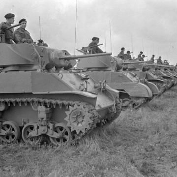 Stuart V Tank Column