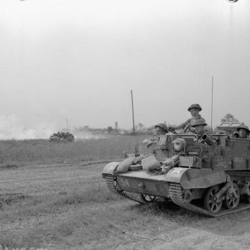 Universal Carrier on the Move