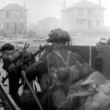 Canadian 8th Brigade at Juno Beach