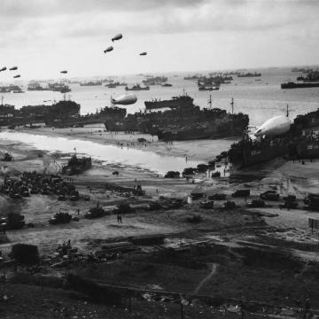The massive scale of D-Day