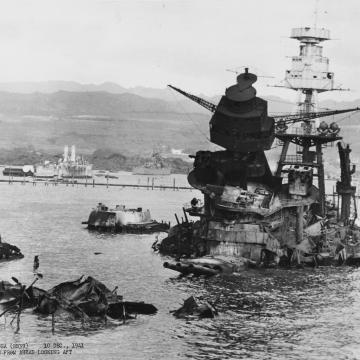 Aftermath of USS Arizona