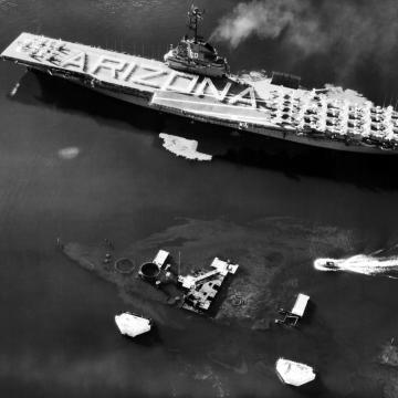 Tribute to USS Arizona