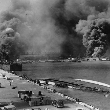 USS Oglala capsized