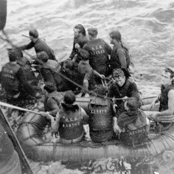Rescue Operations near Halifax