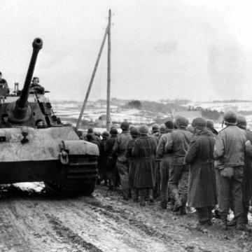 Tiger Royal at Ardennes Offensive